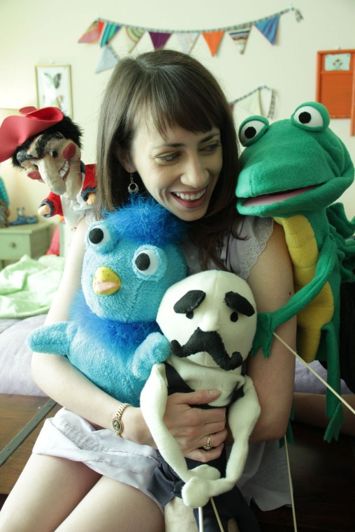 Rachel and Puppets